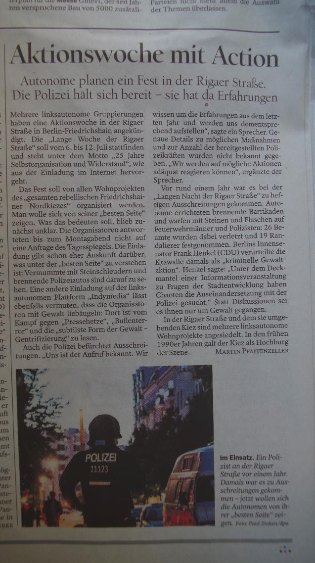 Tagesspiegel Archiv