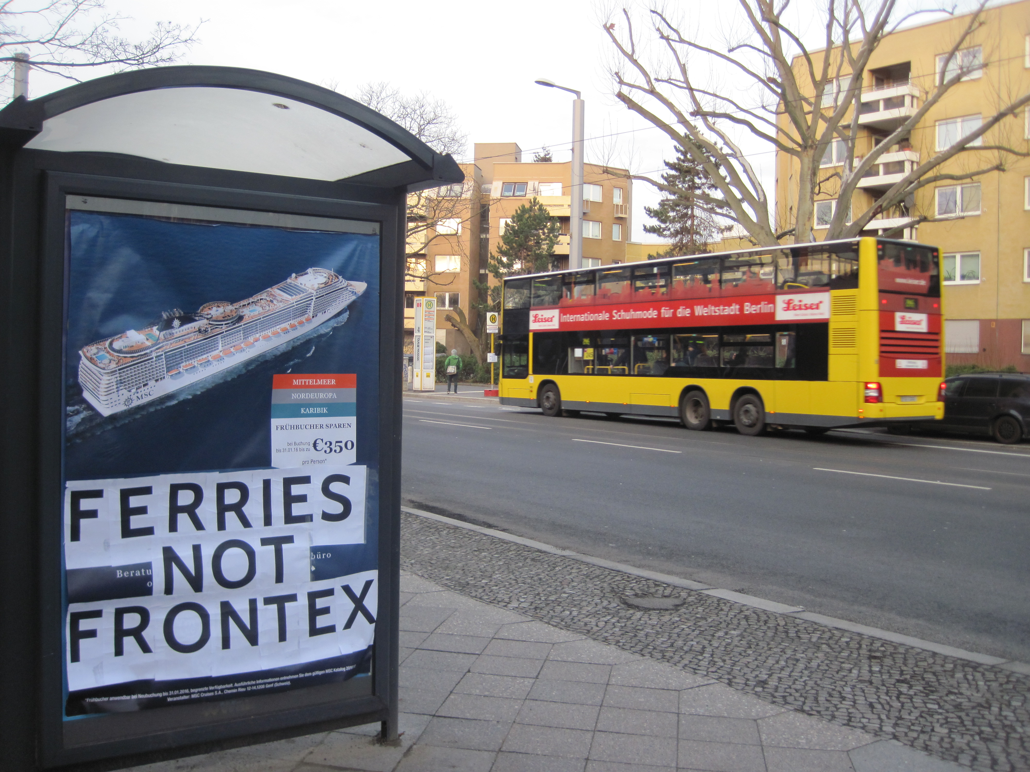 Ferries Not Frontex