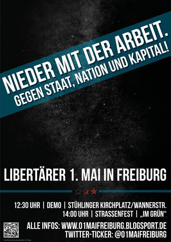 Libertäre 1.Mai Demo