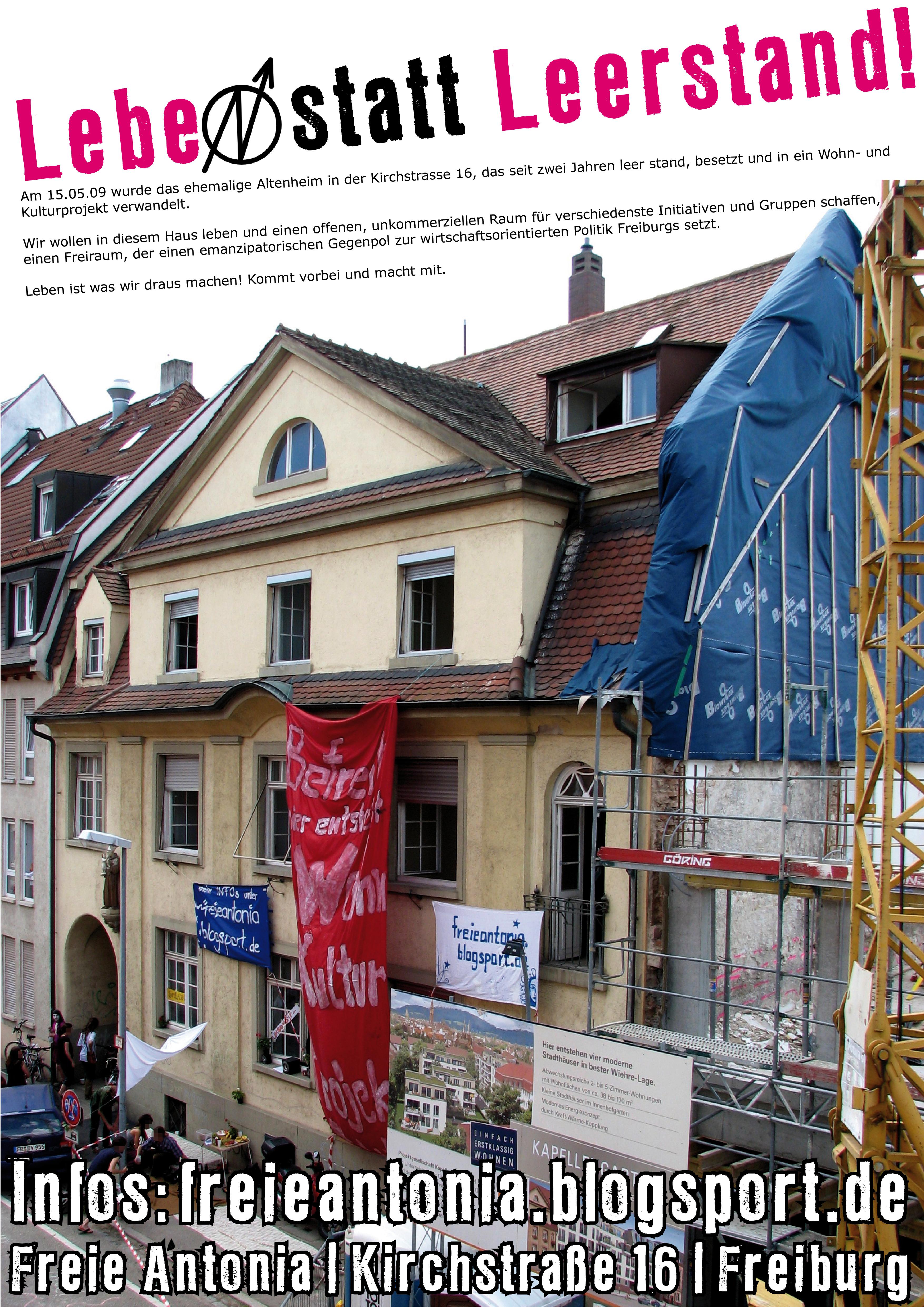 Kann gern als Plakat in Freiburg plakatiert werden. Do it yourself