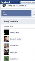 """Ihre Freundesanzahl vor der """"Säuberung"""": 61 Freunde (aktuell sind es nur noch 46)."""