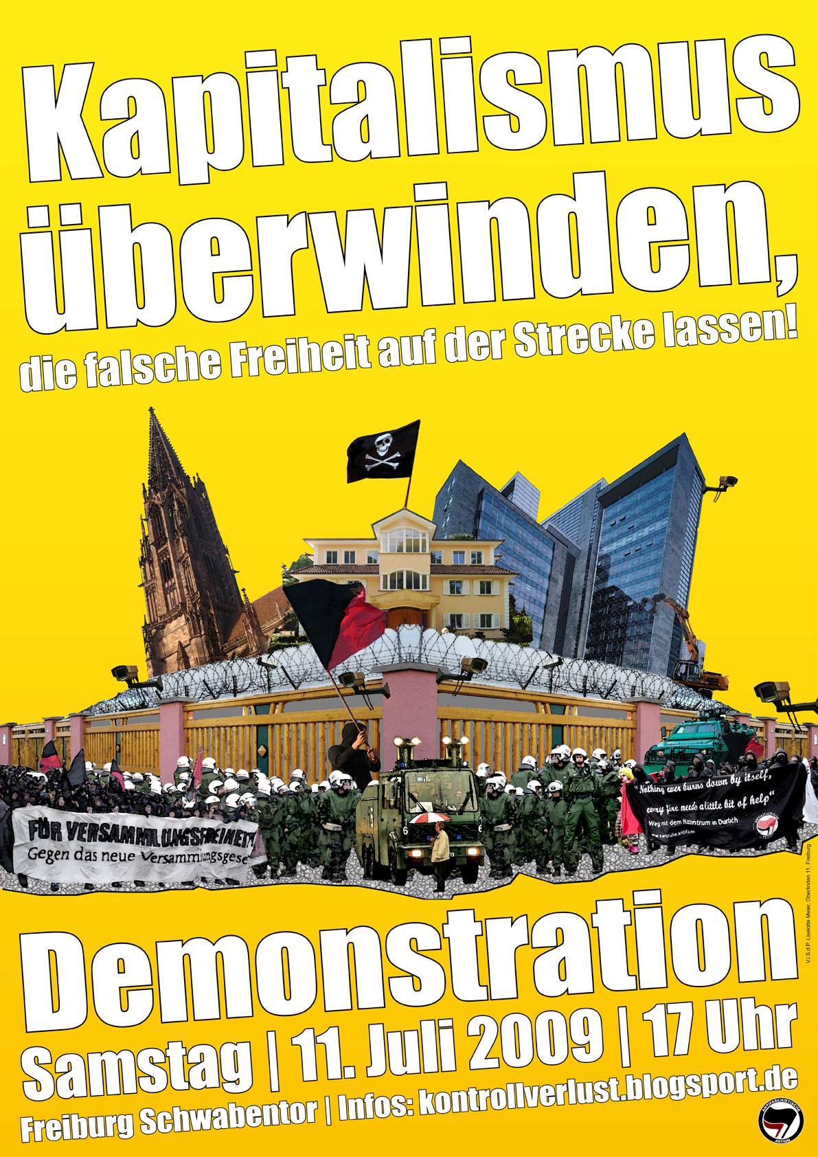 Antikapitalistische Demo am 11. Juli in Freiburg