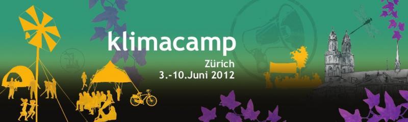 Klimacamp Zürich 2012