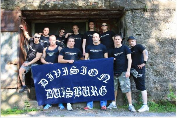 "Rechte Hooligangruppe ""Division-Duisburg"""