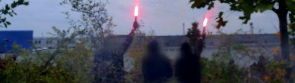 Anti-Knast-Tage 2012 in Dresden - Aktion an der JVA Dresden