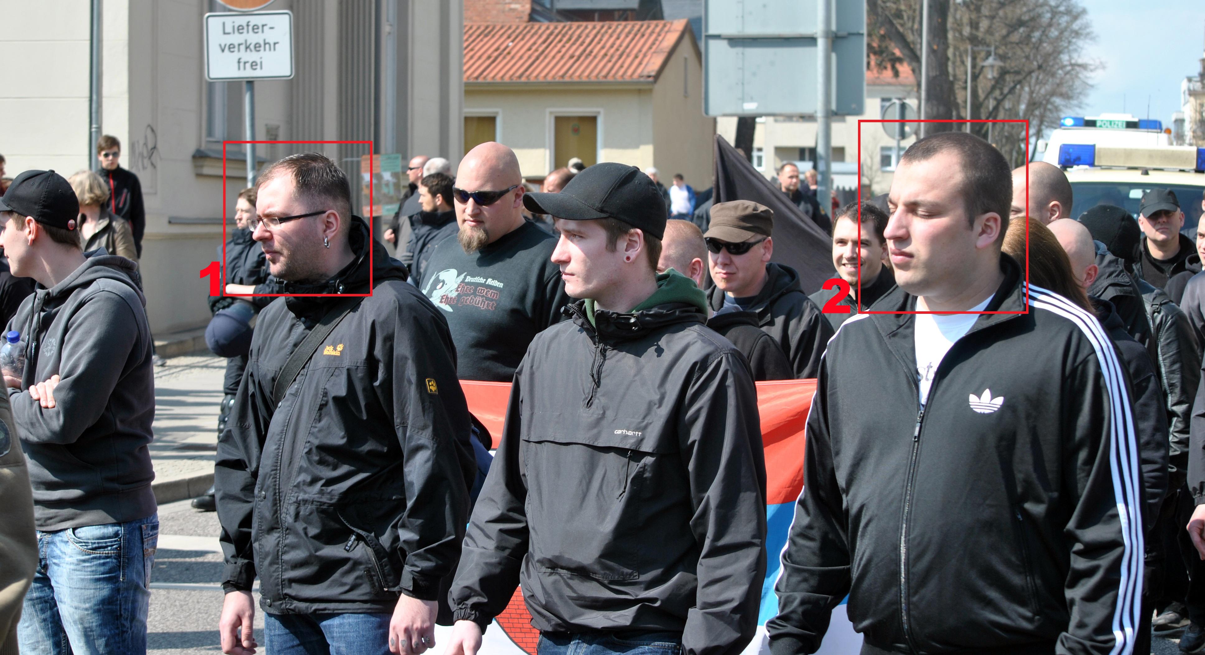 1Bartel und Wolinski in Neuruppin