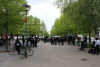 10 Jahre revolutionäre 1. Mai Demonstration in Magdeburg