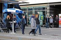 Aktion gegen Bundeswehr in Cottbus (4)