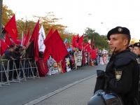 """Demonstration """"Fluchtursachen bekämpfen"""" 15"""