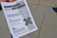 Flyer: Bundeswehr und RSUKr Versenken!
