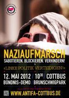 Naziaufmarsch sabotieren, blockieren, verhindern!