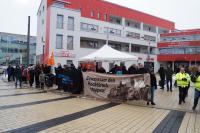 Antifaschistische Kundgebung in Rutesheim