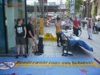 Bundeswehr raus aus Schulen!