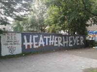 Heather Heyer Graffito in Dortmund
