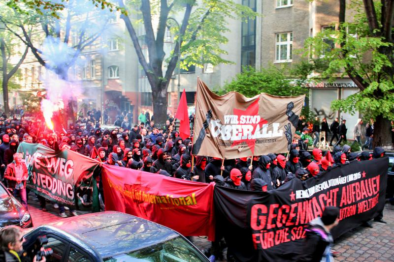 1. Mai-Demo 2015 in Berlin-Kreuzberg