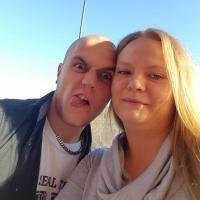 Kevin Krüger und Nadine Lang im Januar 2016