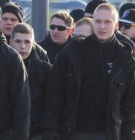 David Großer (rechts vorne) und Michel Stackebrandt (links daneben)
