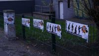Plakate gegen Pro NRW