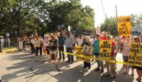 Texas - protest against state sanctioned murder