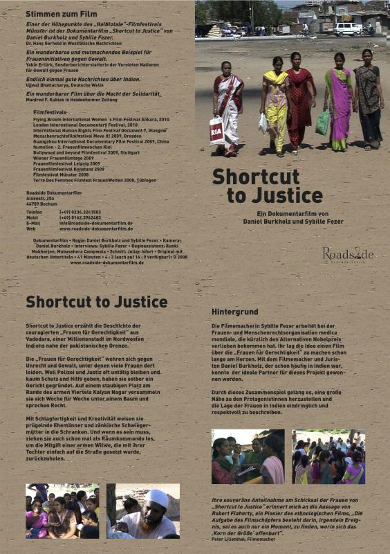 Shortcut to Justice - infomappe