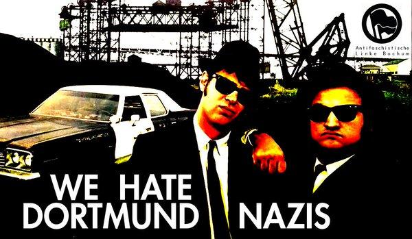we hate Dortmund