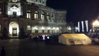 Refugee Protest Camp in Dresden
