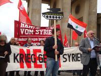 Auftaktkundgebung am Brandenburger Tor