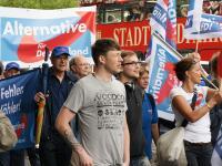 AfD-Demo Hamburg, Andreas Kinsing und Tatjana Festerling
