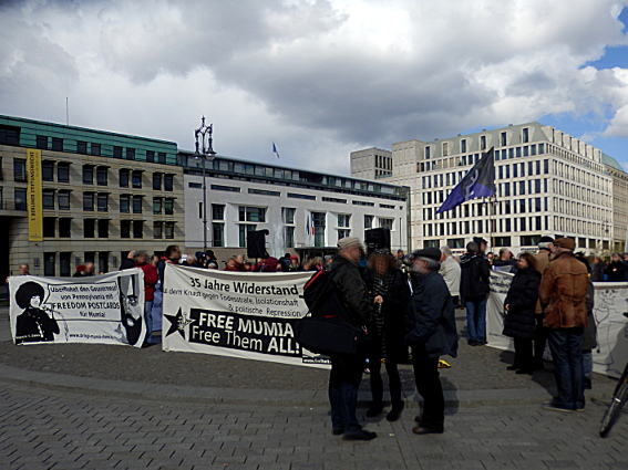 Kundgebung in Berlin: FREE MUMIA - Free Them ALL!