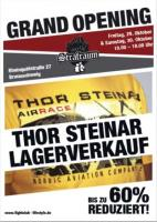 Flyer Thor Steinar-Laden