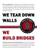 We tear down walls – we build bridges