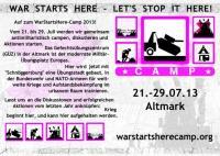teaser camp 2013