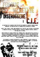 Flyer zur Festnahme von 4 Anarchist*innen