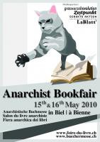 Plakat Anarchist Bookfair