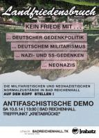 Antifa Demo am Sa 10.05.14 - Start 13:30 Kretabrücke