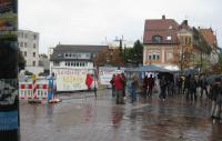 Aufbau - Solidarität mit Kobanê - Kundgebung in Schwenningen