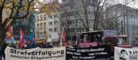 Demonstration zum Wohnort von Georg Klein