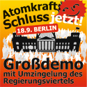Anti Atom demo Berlin 18.09.2010