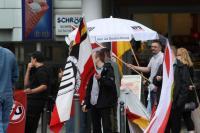 NPD Kundgebung vor dem Bochumer HBF