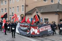 Antirep-Demo in der Bertoldstraße