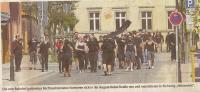 39 Nazis auf dem Weg zum MittenDrin (Scan aus der MAZ)