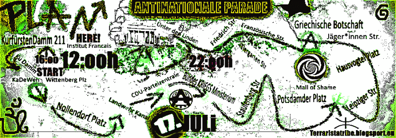 Antinationale Parade!