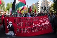 Nakba Demo Berlin, Fronttranspi