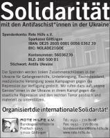 Ukraine Rote Hilfe Solidarität