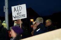 1. afd not welcome