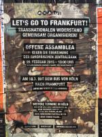 "Plakat ""Cologne goes Frankfurt"""