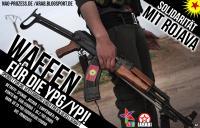 Waffen für die YPG/YPJ!
