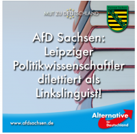 "AfD zu ""Linkslinguist"""