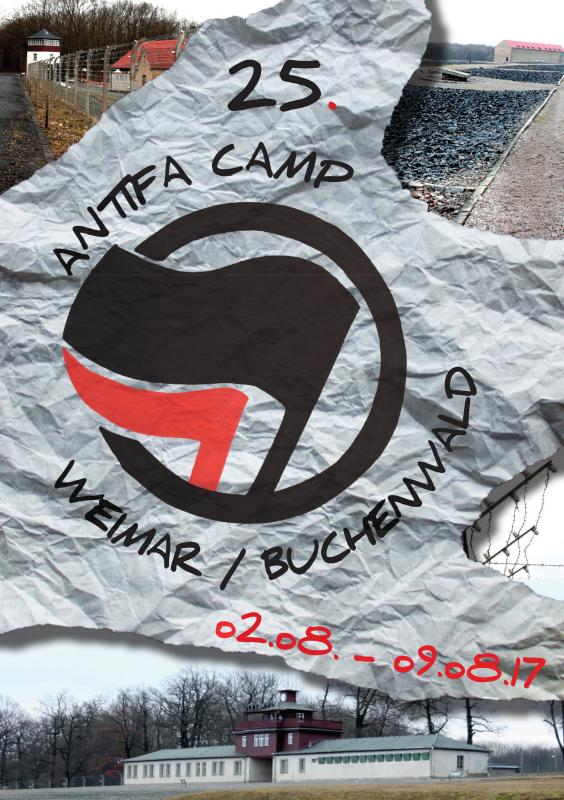 Flyer Antifa Camp Weimar/Buchenwald