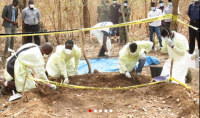 Investigators dig suspected graves of ex-president Jammeh's victims in the forests of Foni, March 2017https://jollofnews.com/2017/03/31/gambia-police-dig-suspected-graves-of-ex-president-jammehs-victims/